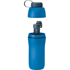 Platypus Meta Bottle with Microfilter 1000ml blue